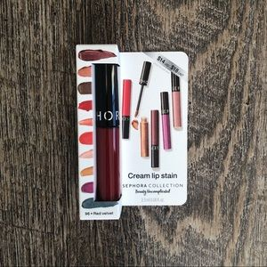 Sephora Cream Lip Stain Liquid Lipstick Red Velvet